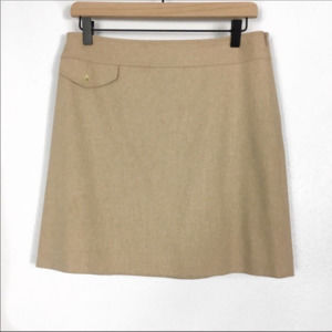 Banana Republic Camel Color Wool/Cashmere Skirt
